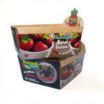 Unieke productverpakking - Aarbeienbakje met bedrukking