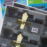 Stickers verpakking in diverse opmaak