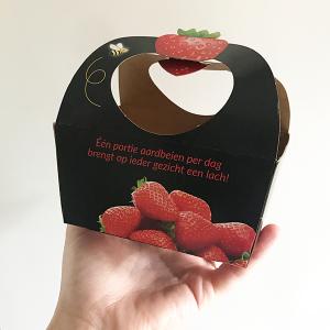 Aardbeienbakje hengsel